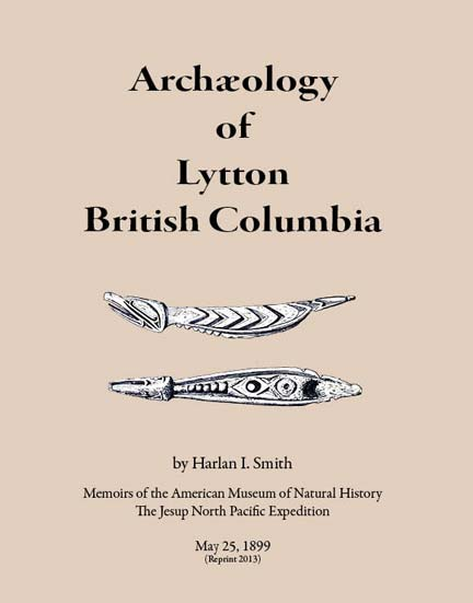 Archaeology of Lytton cover